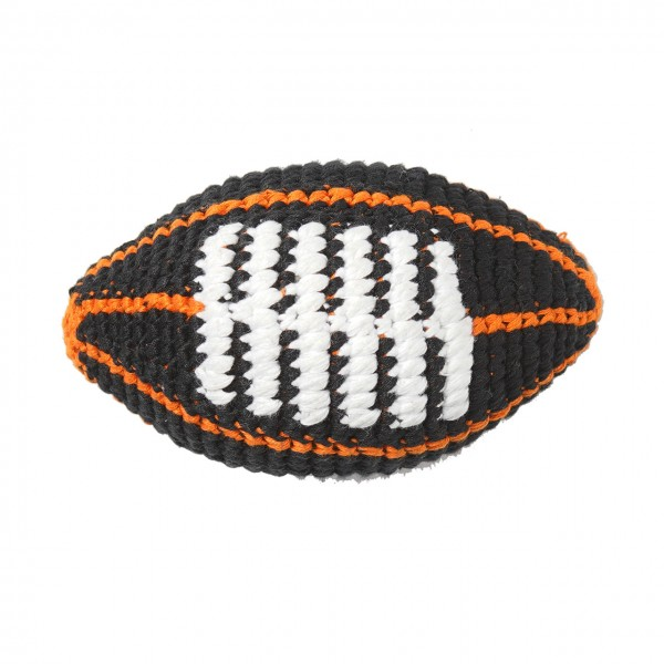 PD - Football - Black with Orange Stripes