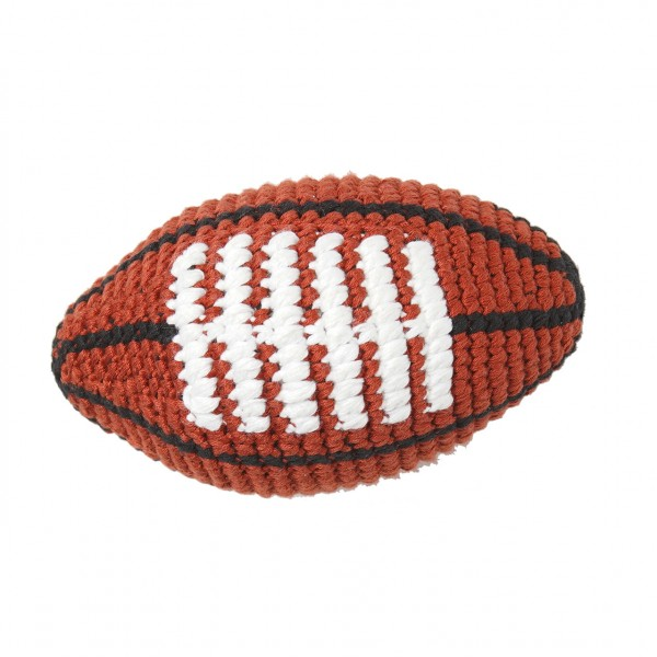 PD - Football - Brown with White Football