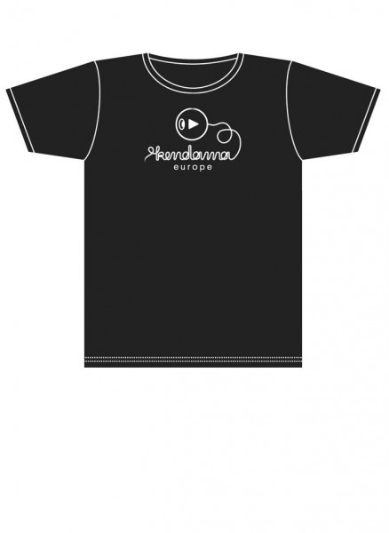 Kendama Europe Logo Shirt - black